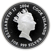 1 Dollar - Elizabeth II (Hello Kitty) – obverse
