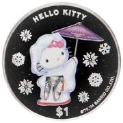 1 Dollar - Elizabeth II (Hello Kitty) – reverse