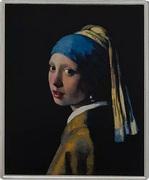 1⁄4 Dollar - Elizabeth II (Girl with a Pearl Earring) – reverse