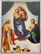 1⁄4 Dollar - Elizabeth II (Sistine Madonna) – reverse