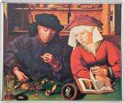 1⁄4 Dollar - Elizabeth II (The Moneylender and his Wife) – reverse