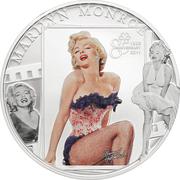 1 Dollar - Elizabeth II (Marilyn Monroe) – reverse