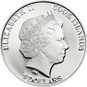 5 Dollars - Elizabeth II (Sphinx of Giza) – obverse