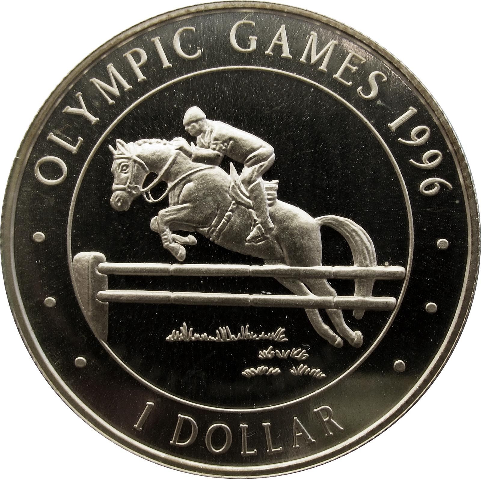 1 Dollar Elizabeth Ii Olympics Cook Islands Numista