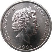 1 Cent - Elizabeth II (Rooster) – obverse