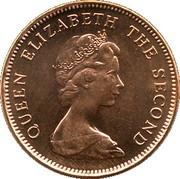 2 Pence - Elizabeth II (2nd portrait) – obverse