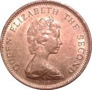 1 Penny - Elizabeth II (2nd portrait; non-magnetic) – obverse