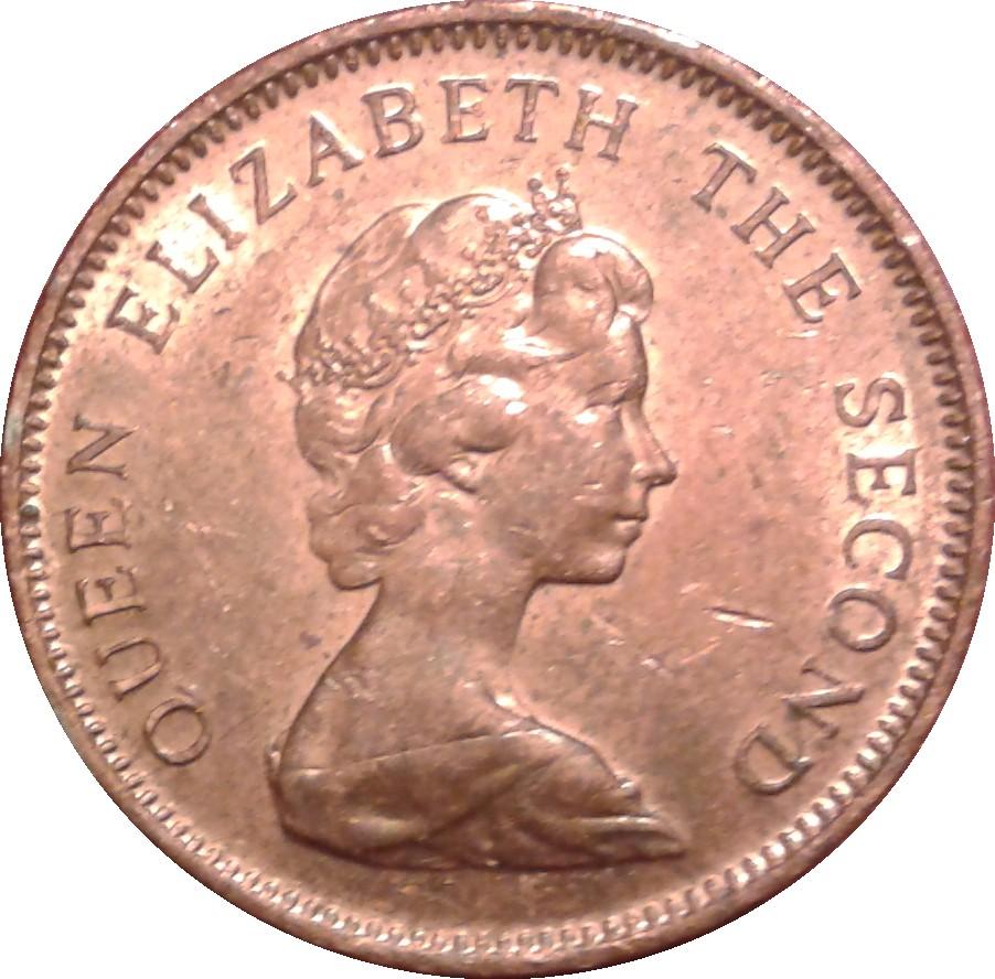 1 penny elizabeth ii 2nd portrait falkland islands for One penny homes