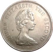 10 Pence - Elizabeth II (2nd portrait; large type) – obverse