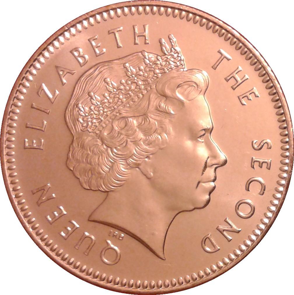 1-2 pence 1998-2004 UNC Falkland Islands set of 4 coins