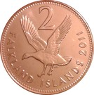 2 Pence - Elizabeth II (4th portrait) – reverse