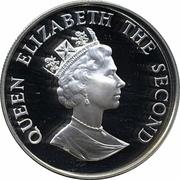 50 Pence - Elizabeth II (WWF; Silver Proof Issue) – obverse