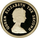 ½ Pound - Elizabeth II – obverse