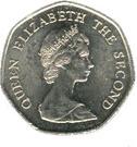 20 Pence - Elizabeth II (2nd portrait) – obverse