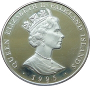 50 Pence - Elizabeth II (Birth of Princess Elizabeth) – obverse