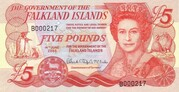 5 Pounds – obverse