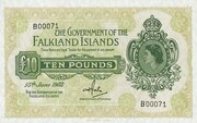 10 Pounds – obverse