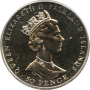 50 Pence - Elizabeth II (Jubilee) – obverse