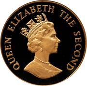 50 Pence - Elizabeth II (V.E. Day) – obverse
