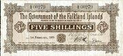 5 Shillings (Brown) – obverse