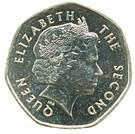 20 Pence - Elizabeth II (4th portrait) – obverse
