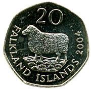 20 Pence - Elizabeth II (4th portrait) -  reverse