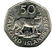 50 Pence - Elizabeth II (2nd portrait; large type) -  reverse