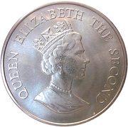 50 Pence - Elizabeth II (WWF) – obverse