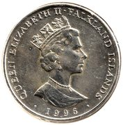 50 Pence - Elizabeth II (Queen Elizabeth II's 70th Birthday) – obverse