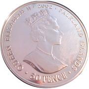 50 Pence - Elizabeth II (Throne) -  obverse