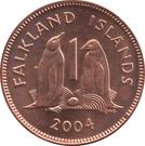 1 Penny - Elizabeth II (4th portrait) – reverse