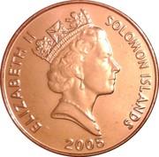 2 Cents - Elizabeth II (3rd Portrait; magnetic) – obverse