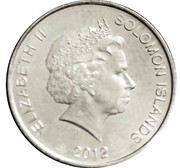 20 Cents - Elizabeth II (4th portrait; Silver Proof Issue) – obverse
