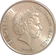 20 Cents - Elizabeth II (4th portrait) – obverse