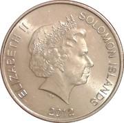 20 Cents - Elizabeth II (4th portrait) – obverse