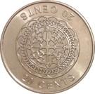 20 Cents - Elizabeth II (4th portrait) – reverse