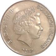 50 Cents - Elizabeth II (4th portrait) – obverse