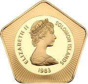 100 Dollars - Elizabeth II (5th Anniversary of Independence) -  obverse