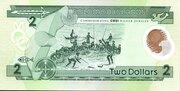 2 Dollars (CBSI) – reverse