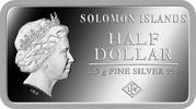 ½ Dollar - Elizabeth II (London) – obverse