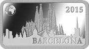 ½ Dollar - Elizabeth II (Barcelona) – reverse