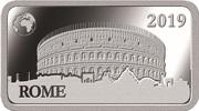 ½ Dollar - Elizabeth II (Rome) – reverse