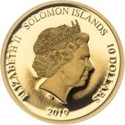 10 Dollars - Elizabeth II (Academy Awards) -  obverse