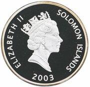 25 Dollars - Elizabeth II (Concorde) -  obverse