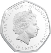 20 Cents - Elizabeth II (Remembrance Day) – obverse