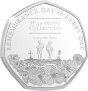20 Cents - Elizabeth II (Remembrance Day) – reverse