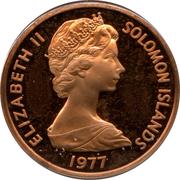 2 Cents - Elizabeth II (2nd portrait) – obverse