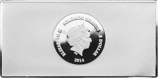 5 Dollars - Elizabeth II (The Nude Maja) - Solomon Islands