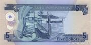 5 Dollars – reverse