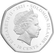 20 Cents - Elizabeth II (UEFA Euro 2020) – obverse